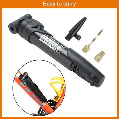 Portable Bicycle Bike Compact Light Hand Air Pump Tire Inflator Attach to Frame ()