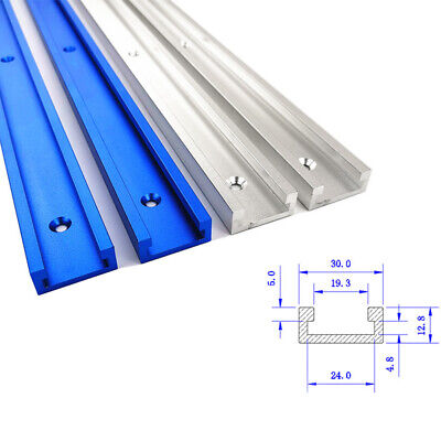For Woodworking Router Tablesaw Aluminium T-Track T-Slot Miter Fixture Tool