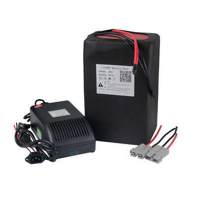 48v 20ah Lithium LiFePO4 Battery Pack fit for 1000W Ebike A123 Polymer Cell  for sale  Ontario