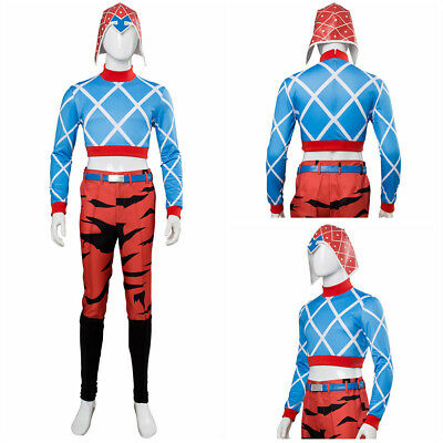 JoJo's Bizarre Adventure: Golden Wind Guido Mista Halloween Suit Cosplay Costume - Guido Halloween Costumes