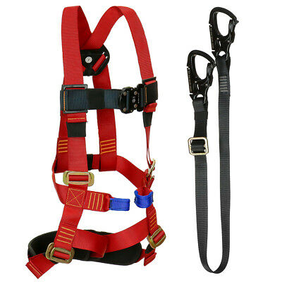 Fusion Tactical Kids Zip Line Kit Harness/Lanyard Bundle FTK-K-HL-04