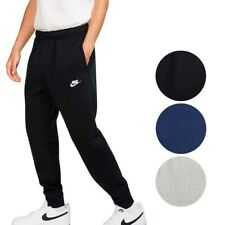 Nike Men's Athletic Wear Ribbed Cuff Drawstring Fleece Jogger Sweatpants