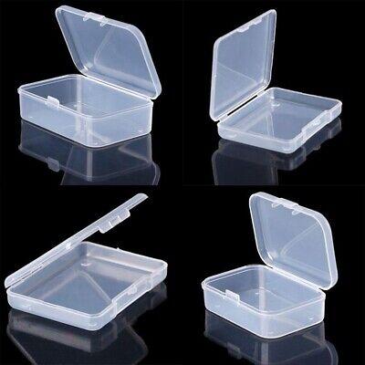 Mini Kunststoff Transparent mit Deckel Aufbewahrungsbox Sammelbehälter Container