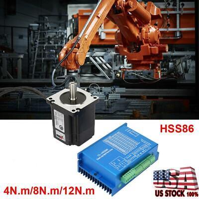New Closed Loop Stepper Motor Hybrid Servo Driver Kits Hss86 4n.m8n.m12n.m