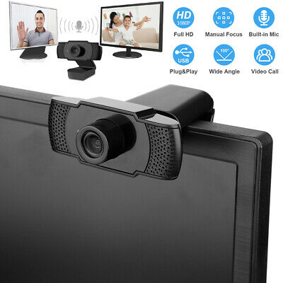1920×1080P Full HD 30fps Webcam Supports for Windows 2000/X