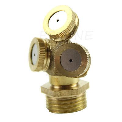 Brass Agricultural Misting Spray Nozzle Garden Sprinkler ...