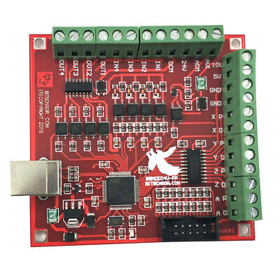 Cnc Usb Mach3 100khz Motion Controller Breakout Board Axis Interface Driver