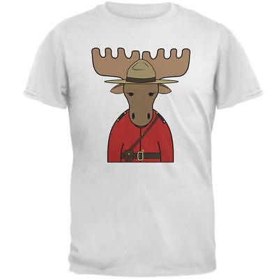 Canada Day Moose Mounty Police Mens T Shirt