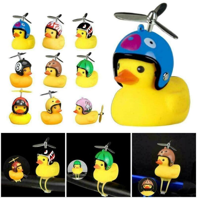 Bicycle Light Cartoon Small Yellow Duck Helmet Road Bell Rid