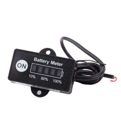 LED Digital Batteriestatus Ladeanzeige Monitor Batteriemessgeraete 12V/24V GY