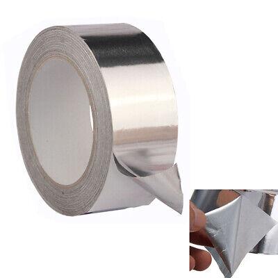 Useful Roll Aluminum Foil Seal Ring Duct Repairs Tape Thermal Resist