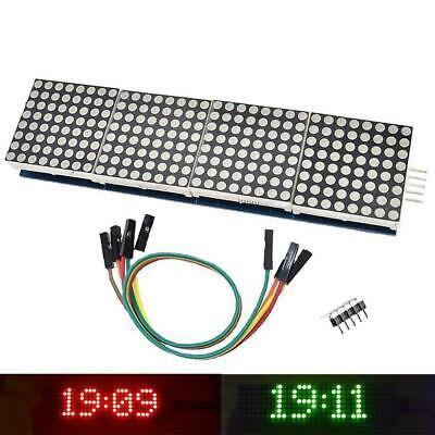 Max7219 Dot Matrix Module Microcontroller Display Accessories
