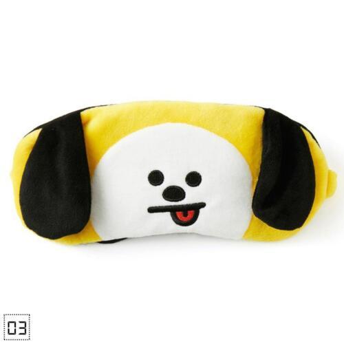 Simple Kpop  Bangtan Boys Sleep Mask Jimin Chimmy RJ Cooky Eye Masks K#Z