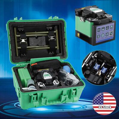 A-80s Fiber Optic Welding Splicing Machine Optical Fiber Fusion Splicer Green Us