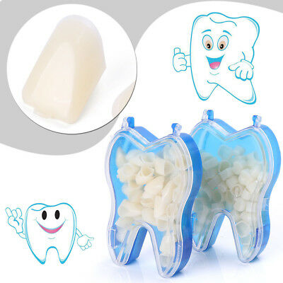 2 Boxes Temporary Crowns Posteriors Anterior Molar Resin Tooth Teeth Caps Dental