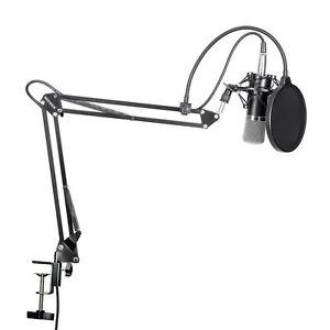 Studio Recording Pro Audio Equipment Microphone Condenser Pop Filter UK NEW NIB*