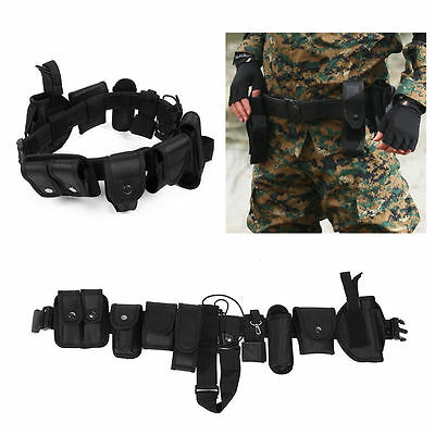 NEW Police Security Guard Modular Enforcement Equipment Duty Belt Tactical Nylon