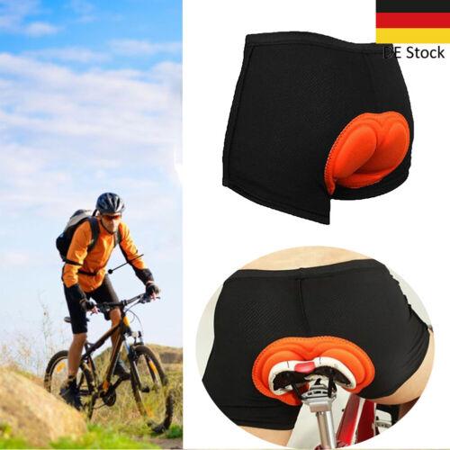 Fahrradhose Herren 3D Gel Sitzpolster Radhose Radlerhose Unterhose Polster 02