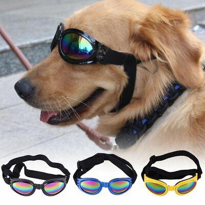 Pet Dog Goggles Sunglasses Doggy Puppy Foldable Sun Glasses Dog Outdoor Pet (Sun Dog Sunglasses)