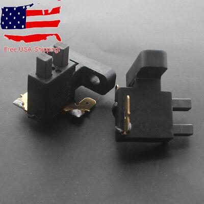 2pcs Carbon Brush For Coleman Powermate Generator 0064523 Td1421-b98-0000