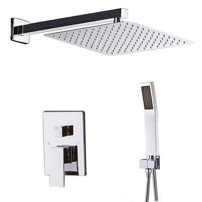 (STARBATH Bathroom Luxury Rain Mixer Shower Faucet Combo Set 8 inch Rainfall )