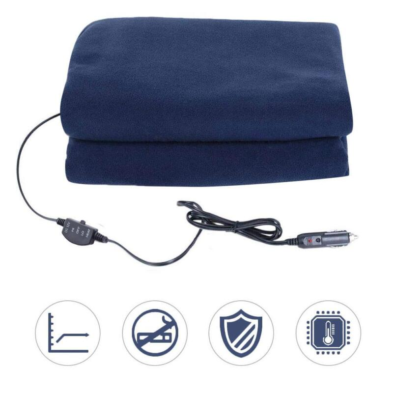 12V Car Heating Blanket Room For Cold Weather Travel Long-Di