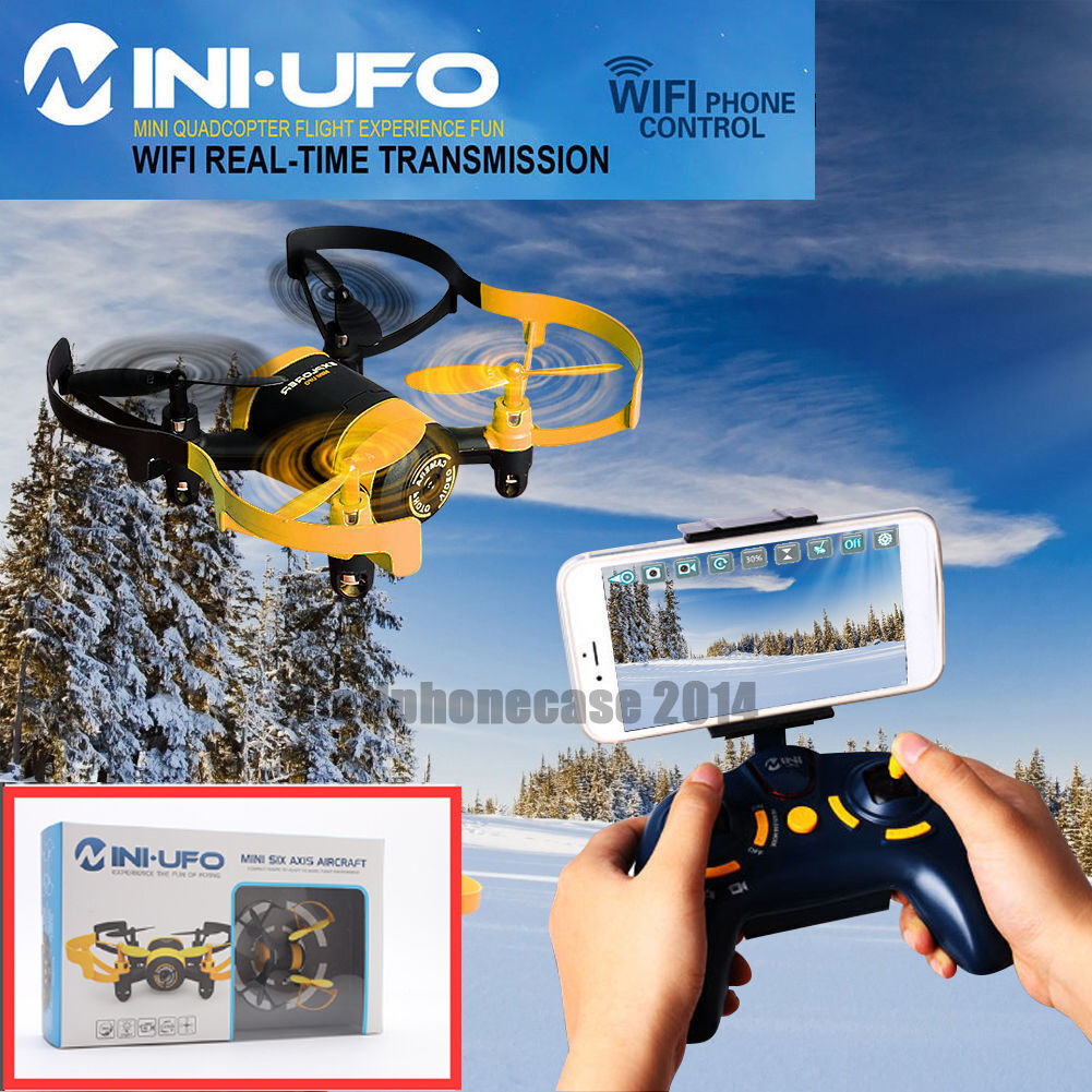JXD 512W Upgraded WiFi FPV 4CH 6Axis GYRO MINI UFO RC Quadcopter Drone HD Camera