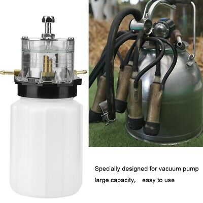 Portable Cow Milker Milking Machine Bucket Tank Barrel Vacuum Pump Accessory