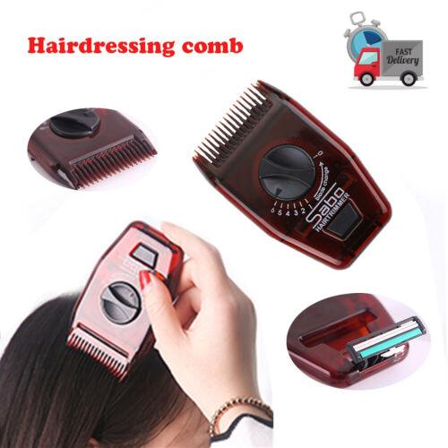 US Mini Hairdressing Comb Hair Brush Comb Razor comb Cutting