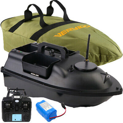 500M Wireless RC GPS Fishing Bait Boat Hook Post Fishfinder Boat With 3 Hoppers