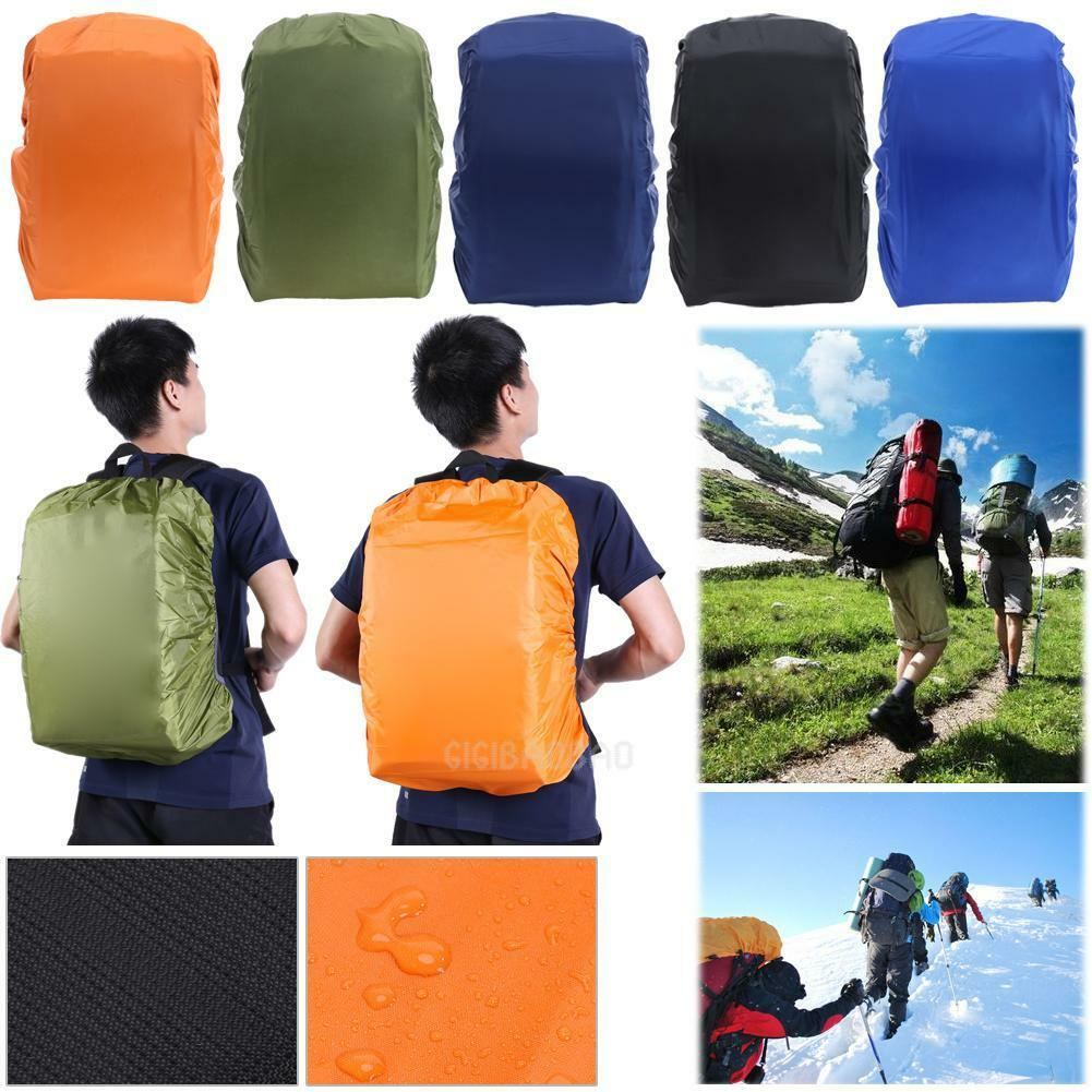 Waterproof Dust Rain Cover Outdoor  Travel Hiking Camping Backpack Rucksack Bag