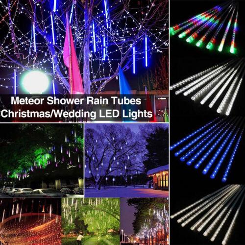 288 LED Solar Lights Meteor Shower Rain Tree String Light Garden Party Outdoor Home & Garden