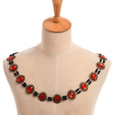 Elizabethan Medieval Necklace SCA Tudor Reenactment Theater Livery Chain - Elizabethan Theatre Costume