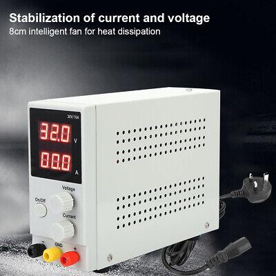 Lw-k3010d Adjustable Dc Power Supply Variable Regulated Digital Mcu 30v 10a