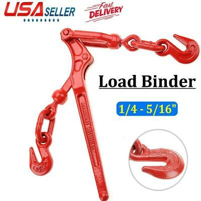 Load Binder Pull Lever 14 - 516 Chain Hook Tie Down Rigging Equipment