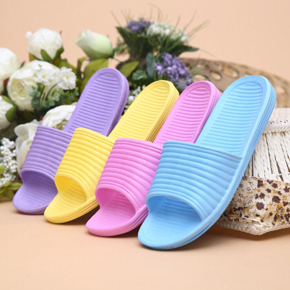 Bathroom Slippers Shower Shoes Women  Non Slip Bath Sandals House