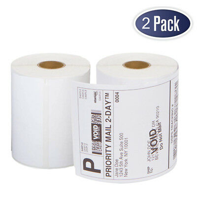 2 Rolls Dymo 4xl Thermal Shipping Labels 4x6 1744907 Compatible - 220roll