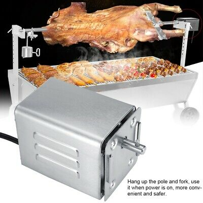 Stainless Steel 50-70kgF Goat Chicken BBQ Spit Rotisserie Roaster Electric Motor Stainless Steel Chicken Roaster