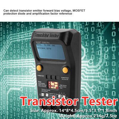Bside Esr02 Pro Transistor Tester Diode Triode Capacitance Meter Npn Pnp Mosfet