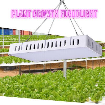 1500W LED Grow Light Full Spectrum Hydroponic Veg Indoor Plant Panel Lighting UK
