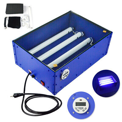 60w 1812inch Electric Uv Exposure Unit Screen Printing Supply Top Grade Tool