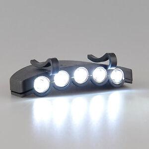 5 LED HeadLamp Flash Cap Torch Flash Head Light Fishing Camping Hunting Clip-On