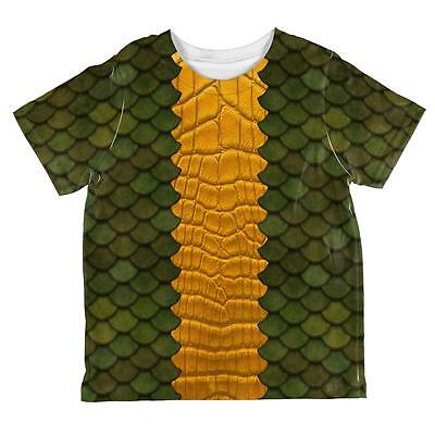 Halloween Green Dragon Costume All Over Toddler T Shirt](All Green Halloween Costume)