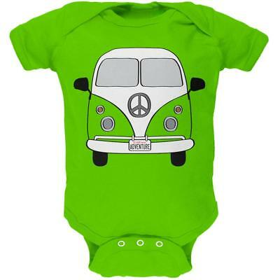 Halloween Travel Bus Costume Camper Adventure Soft Baby One Piece