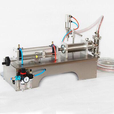 90-1000ml Pneumatic Liquid Filling Machine For Water Perfume Shampoo Oil