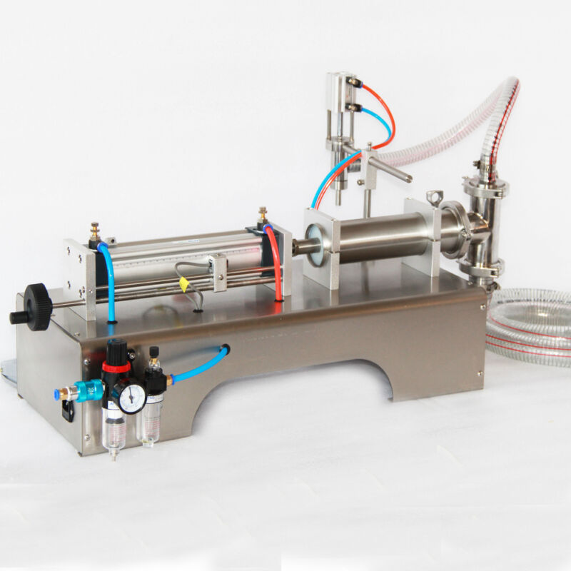90-1000ml Pneumatic Liquid Filling Machine Water Perfume Shampoo Oil Filler Tool