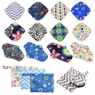 Wet Cloth - Washable Wet Bag Reusable Cloth Menstrual Sanitary Maternity Napkin Nappy Pouch