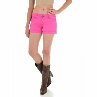 Pink Wrangler Womens Booty Up Pink Shorts