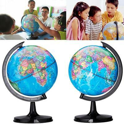 360 ° drehbare Mini-Globen Earth Map Globe World Geography Home Desk Dekoration