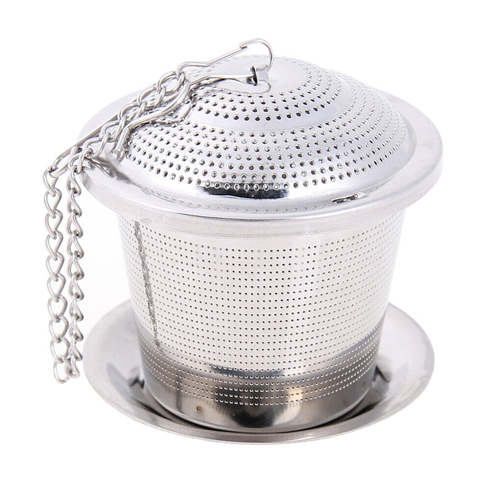 Stainless Steel Tea Infuser Strainer Loose Leaf Herbal Spice Filter Bag